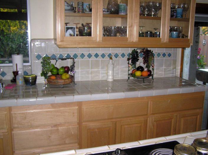 Almond countertop