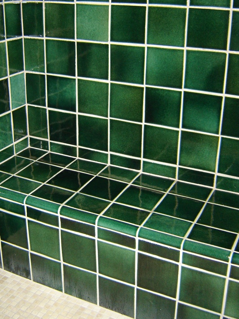 ... Bathroom Tiles / Forest Green. Forest Green