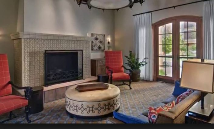 Maravilla Scottsdale fireplace