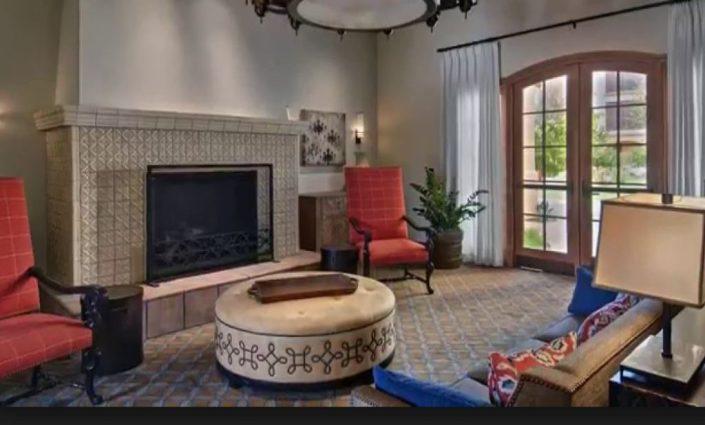 Maravilla Scottsdale fireplace