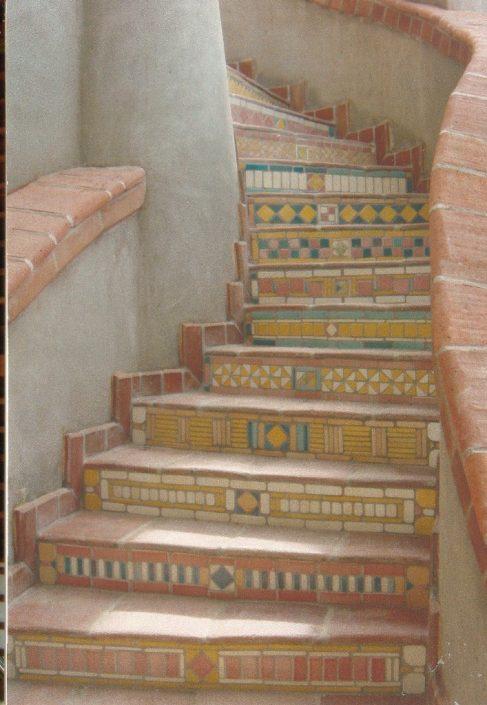 Puerto Vallarta staircase