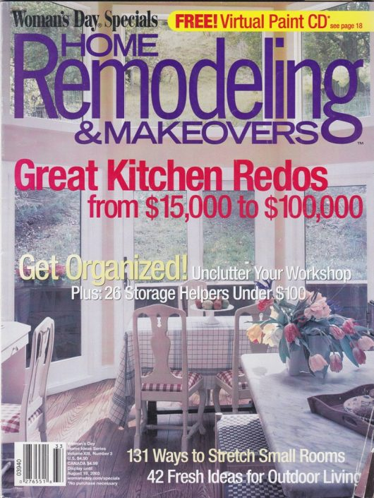 Home Remodeling & Makeovers 2003