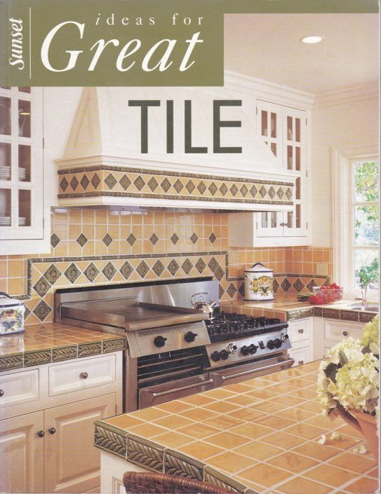 SUNSET Books Ideas for Great Tile