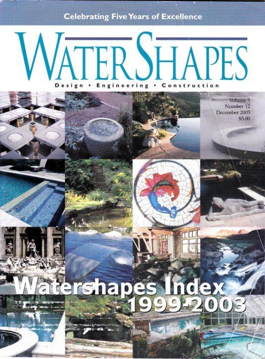 WATER SHAPES Dec 2003