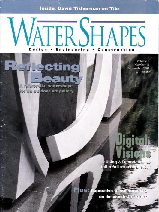 WATER SHAPES Nov 2005